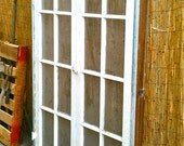 Reserved for Jorge Vintage 1920's Pair Of Casement Windows With Original Wavy Glass