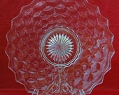 """Vintage AMERICAN FOSTORIA PLATTER, 12"""" Di., For Chops or Cake, Excellent Condition! Perfect Gift For Any Occasion -"""