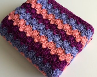 Made to Order  - Custom Crochet Baby Blanket - Many Colors Available