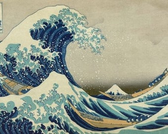 Poster of The Great Wave Print in large size
