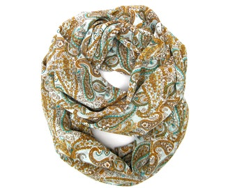 Infinity Scarf, Women Scarf, Womens Clothing, Holiday Gift, Eternity Scarf, Fashion Scarf, Under 15 Dollars, Girlfriend Gift, Ready to Ship