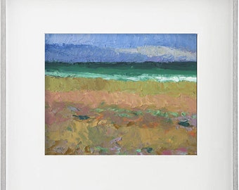 Beach  Oil Painting by B. Kravchenko for SEASTYLE