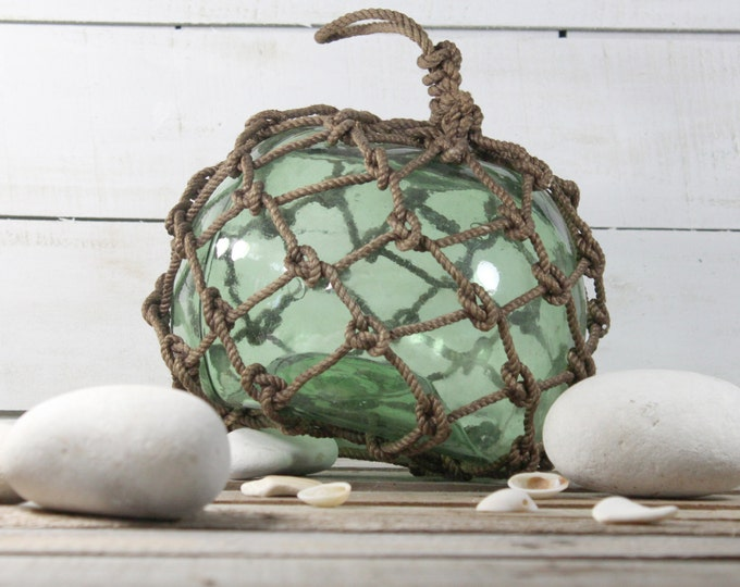 Beach Decor Big Green Onion Fishing Float by SEASTYLE