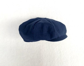 Navy Newsboy, Ring Bearer Hat, Baby Boy Prop, Toddler Newsboy, Newsboy Cap, Navy Newsboy Hat, Newsboy Hat, Baby Newsboy, Newsie hat, ringboy