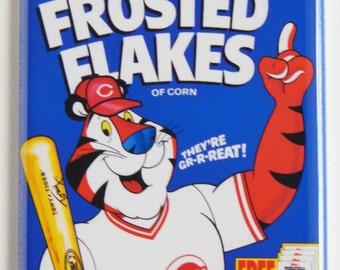 Cincinnati Reds Cereal Box Fridge Magnet (2 x 3 inches)