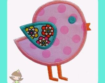 Chick Applique  design