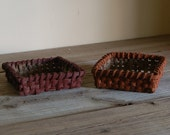 Pair of Small Baskets