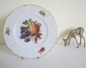 ANTIQUE 1920s ROSENTHAL plate - dessert, cake, fruit, display