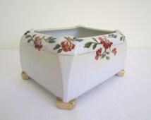 VINTAGE pre-1945 NIPPON glazed planter, trough vase