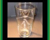 BLEACH squad team emblem drinking glass - Anime, Manga etched pint