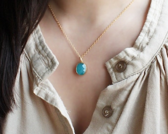 Calming Blue Necklace