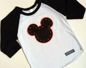 Halloween Mickey Mouse Shirt, Halloween Minnie Mouse Shirt, Disney Halloween shirt, sizes 3 months to Adult 2XL, Disneyland Halloween shirt