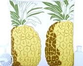 Pineapple cushion cover pineapple pillow yellow retro cushion throw pillow fruit cushion decorative pillow