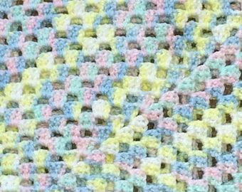 WINTER SALE - The Granny Square Baby Blanket!