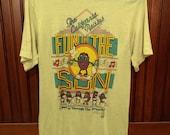 """Vintage California Raisins """"Fun In The Sun"""" 1987 T-Shirt"""