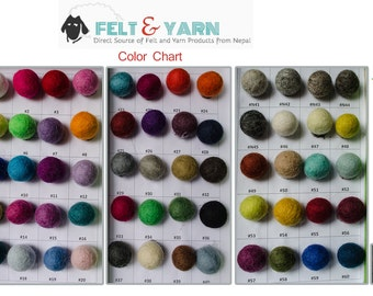 Custom felt ball rug,Handmade felt ball rugs Nepal, Free delivery from Nepal, Felt ball mat, Round custom rugs