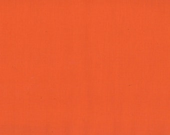 Solid Orange Fabric, Kona Cotton Solids by Robert Kaufman, Orange Fabric, Orange, 1 yard fabric, 03028