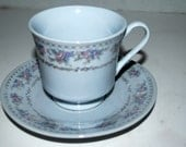 china tea cup and saucer    made in China