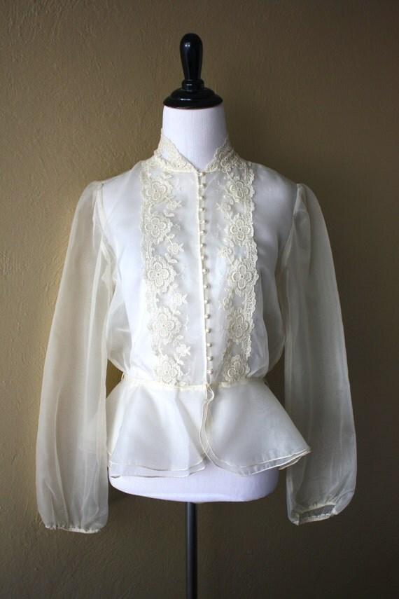Victorian Vintage Blouse 119