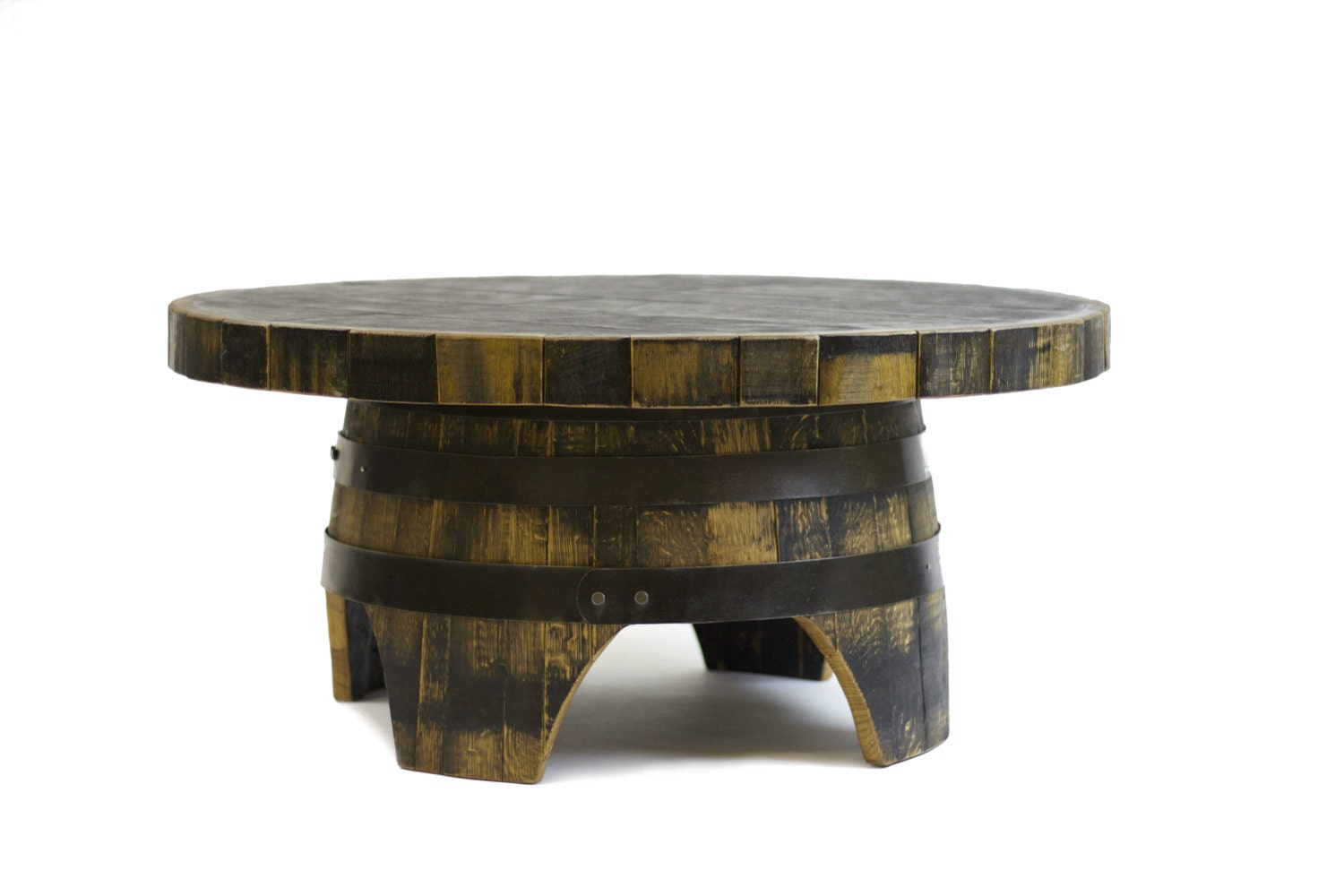 Bourbon Barrel Coffee Table Whiskey Coffee Table Barrel