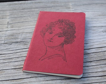 Mini Vintage Edwardian Lady Gift Journal