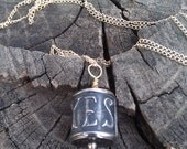 SAY YES to Forever  Sterling Silver and Gold Fill Necklace Pendant