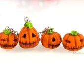 Halloween Pumpkin Charm/Necklace/Bag Charm Adorable Gift Ideas for anyone