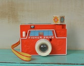 Vintage Fisher Price Changeable Picture Disc Camera 1968