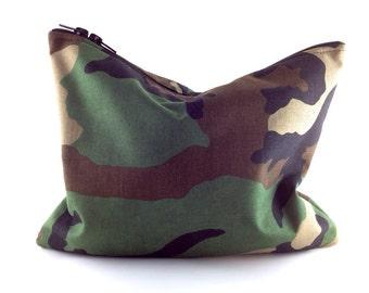 Camo Statement Clutch | Camouflage Clutch | Army Print | Military Clutch | Handbag | Handmade