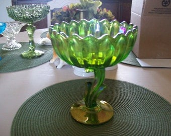 Pedestal Dish,  Indiana Glass , Compote