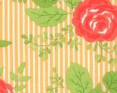 Happy Go Lucky - Bloom - Orange - Bonnie & Camille for Moda Fabrics - 55060 16 - 1/2 yard, Additional Available