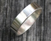 Sterling Silver Ring - Simple 5mm Band