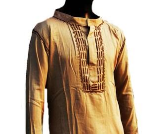beach cover up, boho wedding dress, medieval clothing, plus size clothing, long kaftan, mens gift ideas, salwar kameez, viking tunic, tops