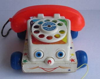 Fisher Price  Toy Chatter Telephone #747