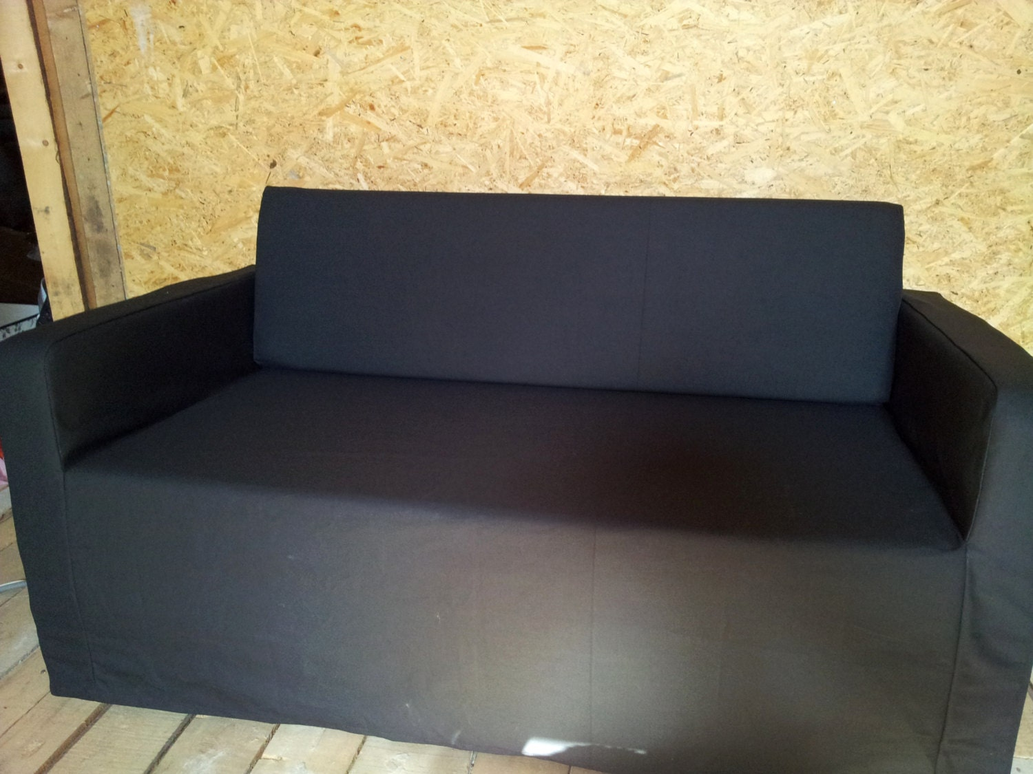 Slipcover For Solsta Sofa Bed From Ikea Strong Dark Grey