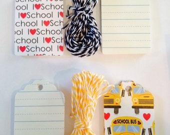 Teacher School Class Gift Tags (set of 32)