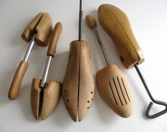 Shoe strerchers, set of 5
