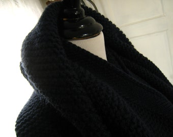 Infiniti or Cocoon Scarf 40 Inches Arouind 27 Inches Long