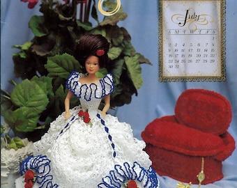 2000 Millennium Collection Master Crochet Guild Miss July Crochet Pattern Book Annie Potter