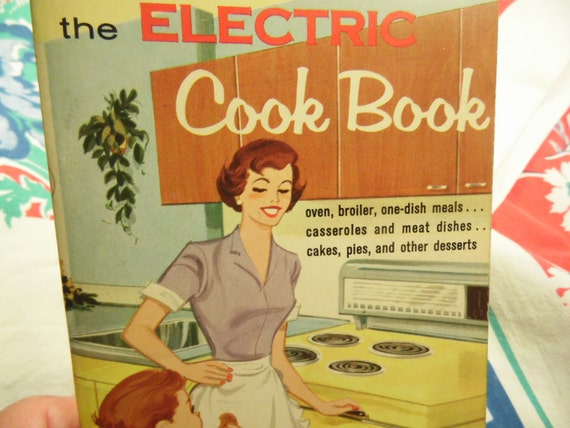 The Electric Cook Book 1960 Cookbook Paperback Cookbook