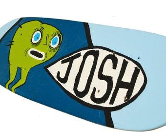 Skateboard Sign, Skateboard Wall Art, Personalized Wall Art, Personalized Boys Name Sign, Skate Board Sign, Decorative Skateboard Signs