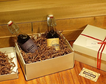 GIFT BOX for 1 or 2 Small bottles of Langdon Wood