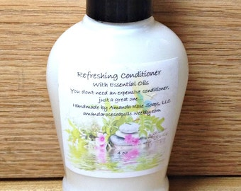 Rosemary Mint Conditioner- Hair Conditioner 4 oz
