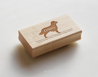Goldendoodle - Personalize Stamp