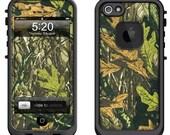 Lifeproof iPhone 6 Fre, LifeProof iPhone 5 5S 5C Fre Nuud, Lifeproof iPhone 4 4S Fre Case Decal Skin Cover - Tree Camo
