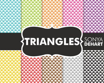 60% OFF SALE Triangle Patterns, Triangle Digital, Triangle Papers, Triangles Background, Triangles Paper, Triangle Background