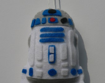 Felt Star Wars Ornament - R2D2 Ornament