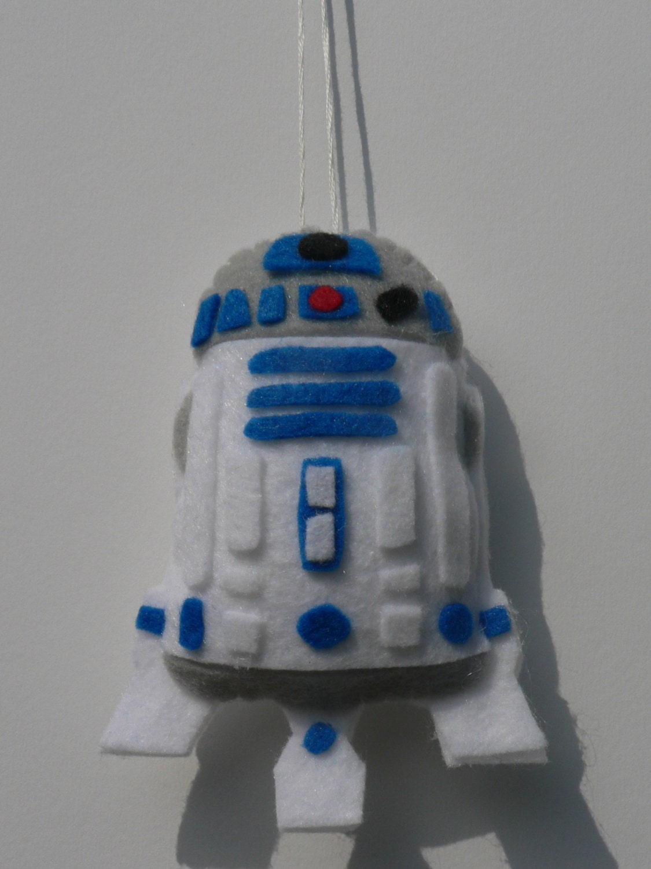 Felt Star Wars Ornament R2D2 Ornament - photo#43