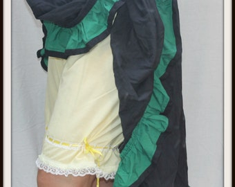 Renaissance Cosplay ButterCup Yellow Tie-up Bloomers Fits up to XXL