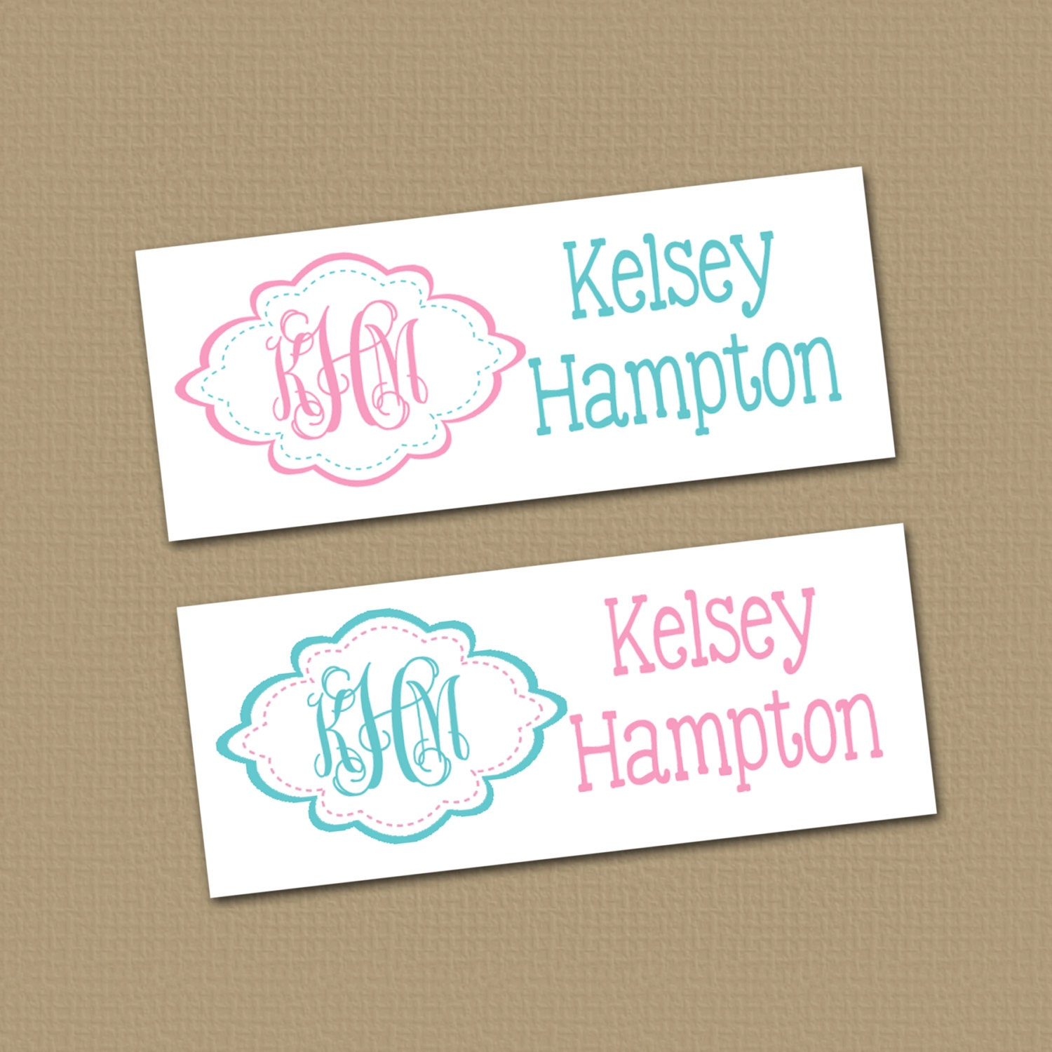 Personalized Waterproof Label Stickers Perfect For Bottles